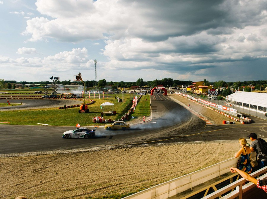 Photos from the 3rd round of the Polish Drift Championship in Słomczyn. Monster Energy was a partner of the event.