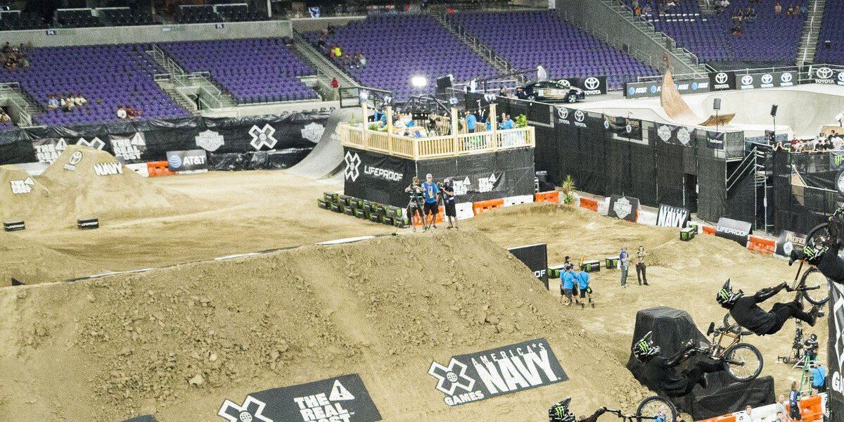 Image from the 2017  X Games in Minneapolis