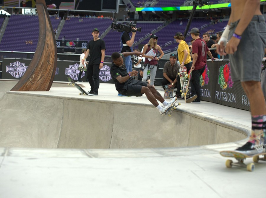 Image of the 2017 Summer X Games in Minneapolis, Minnesota