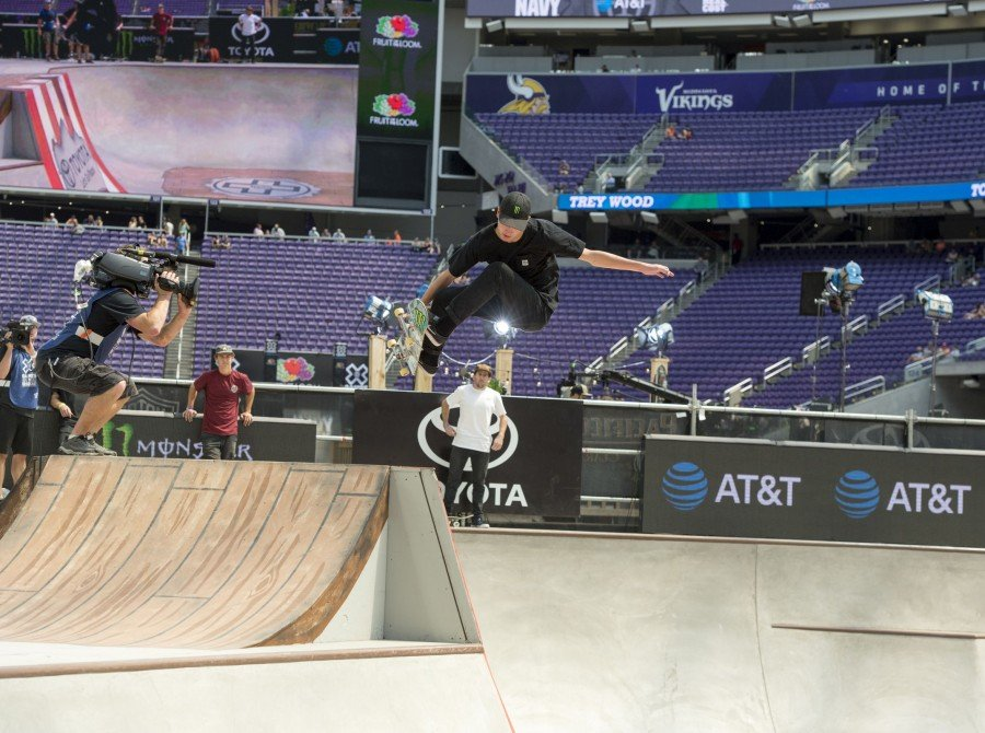 Images of the 2017 Summer X Games in Minneapolis, Minnesota