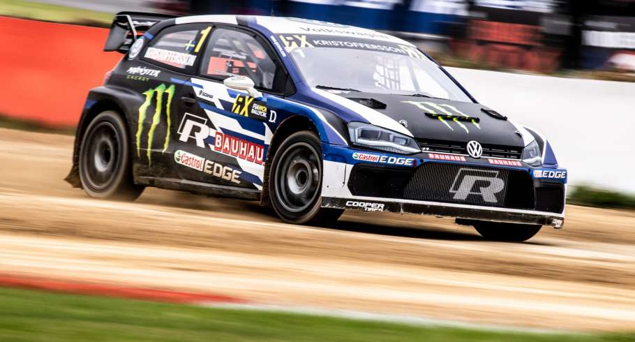 Friday images from the 2018 World RX of Great Britain