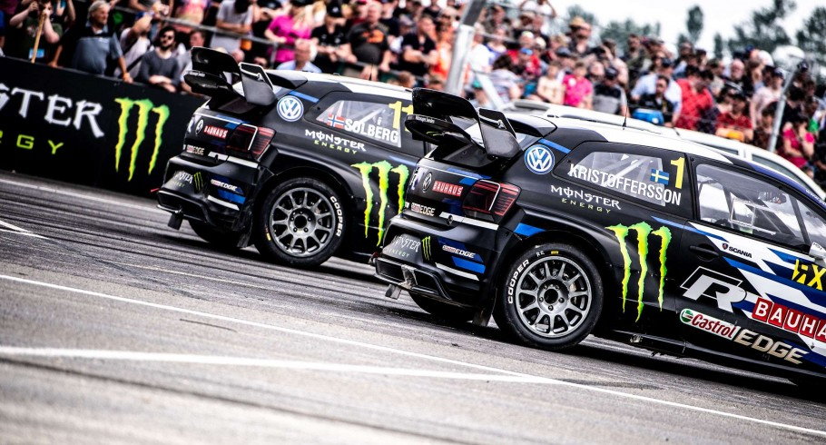Sunday images from the World RX of UK