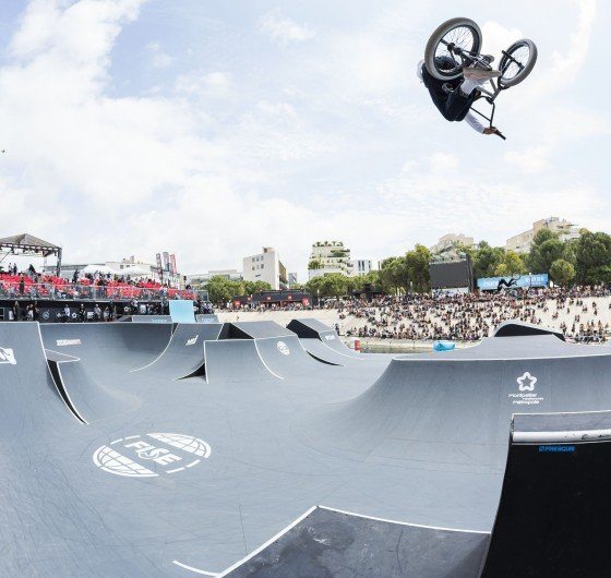 Action Shots from the 2018 BMX Fise World Series, France