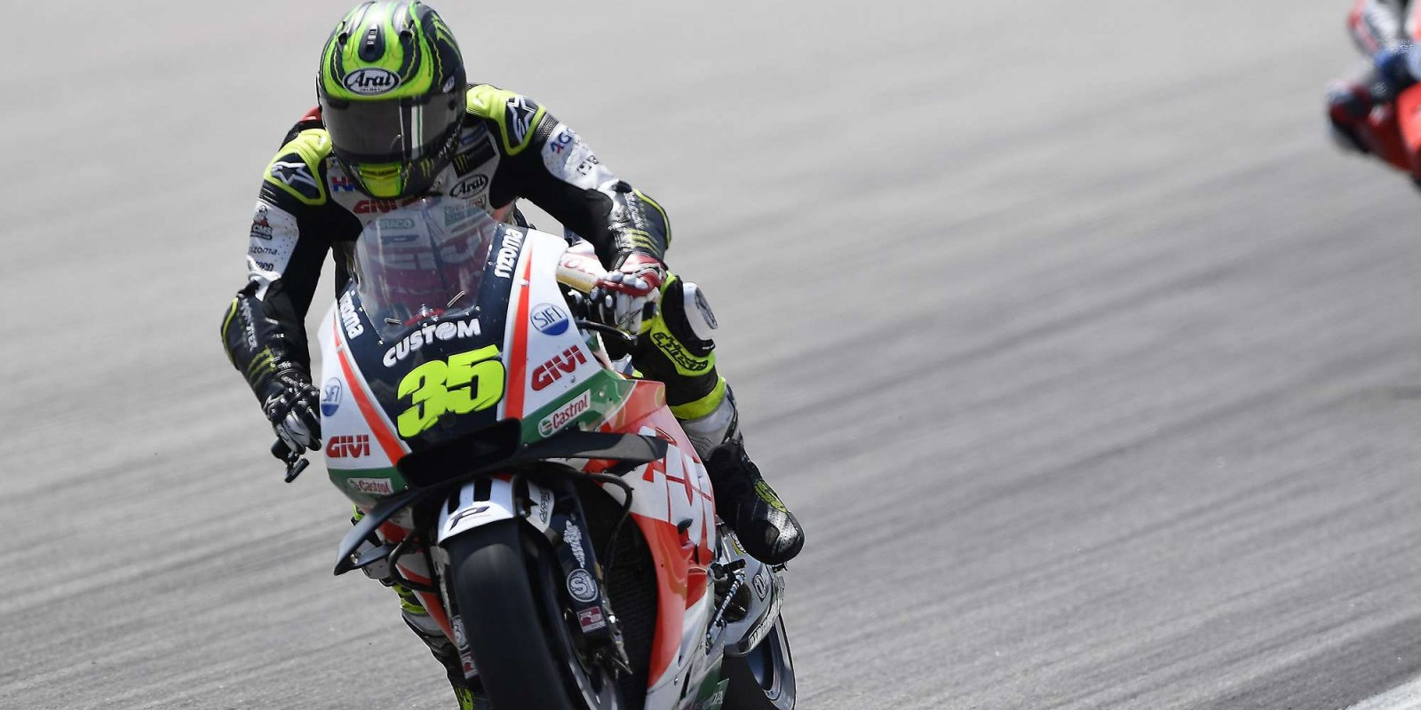 Cal Crutchlow at the 2018 GP of Germany