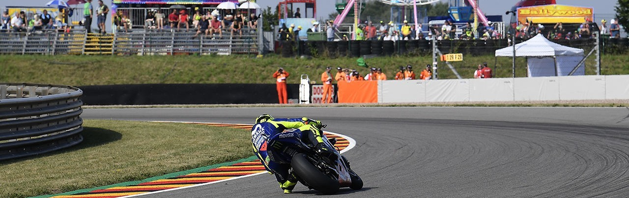 Valentino Rossi at the 2018 GP of Germany