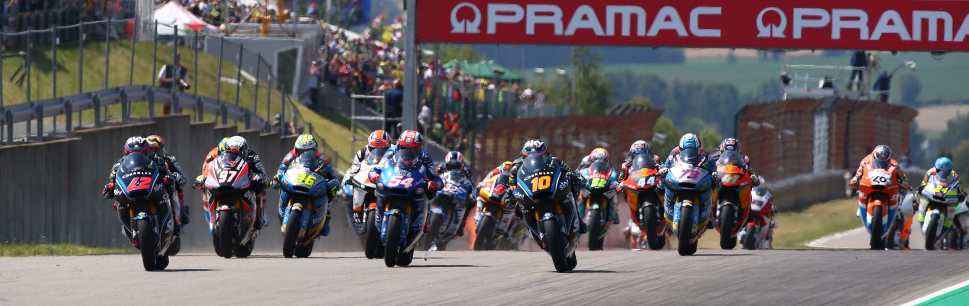 Image from the 2018 MotoGP event in Sachsenring, GermanyImage from