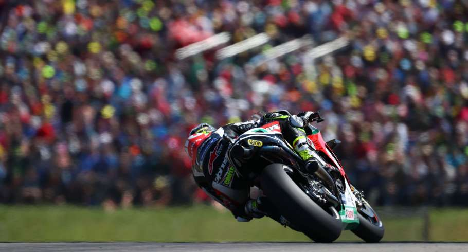 Action image from MotoGP Sachsenring