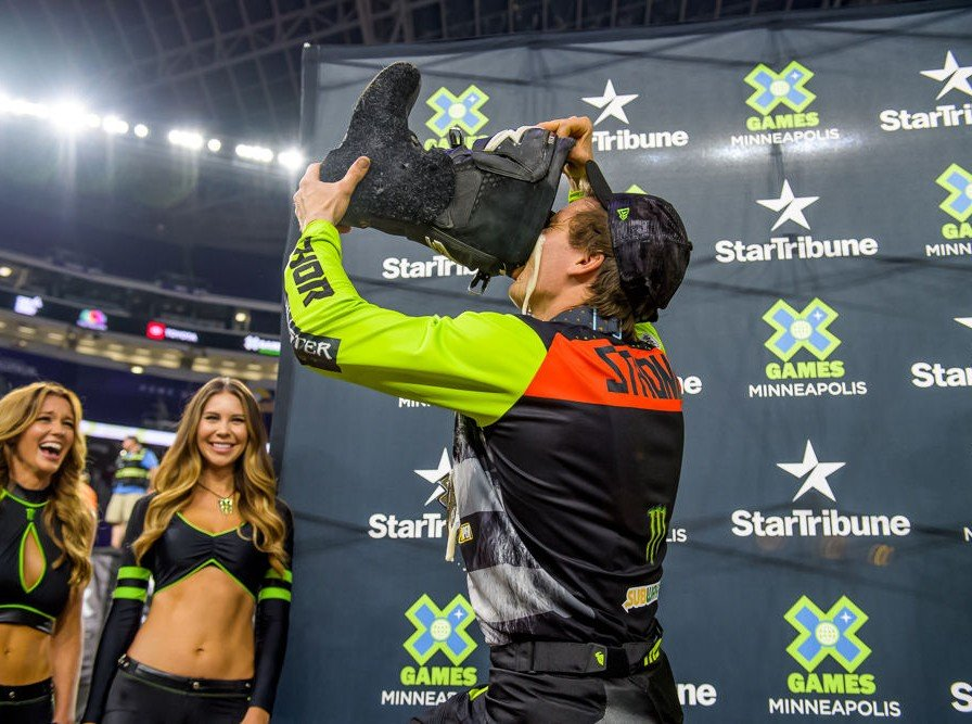 Jackson Strong images for Moto X Freestyle at Summer X Games