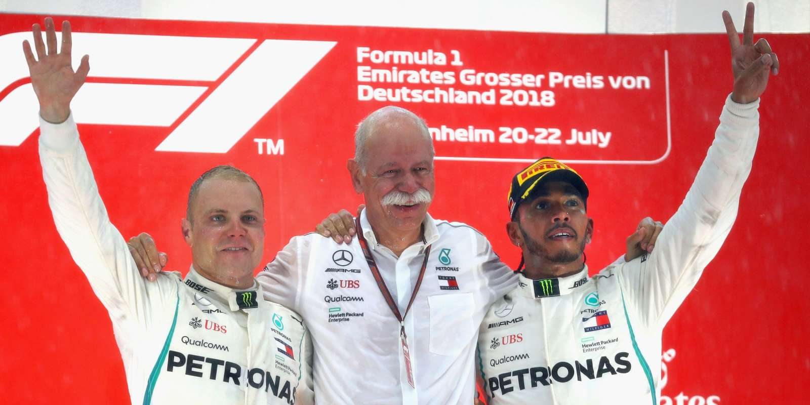 Sunday images from the 2018 German Grand Prix