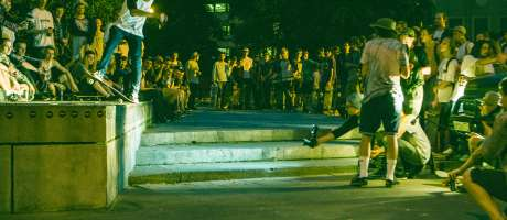 Images from Go Skateboarding Day in Moscow