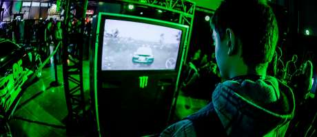 Photos from pro gaming event PlayIT, held in April, in Budapest, Hungary
