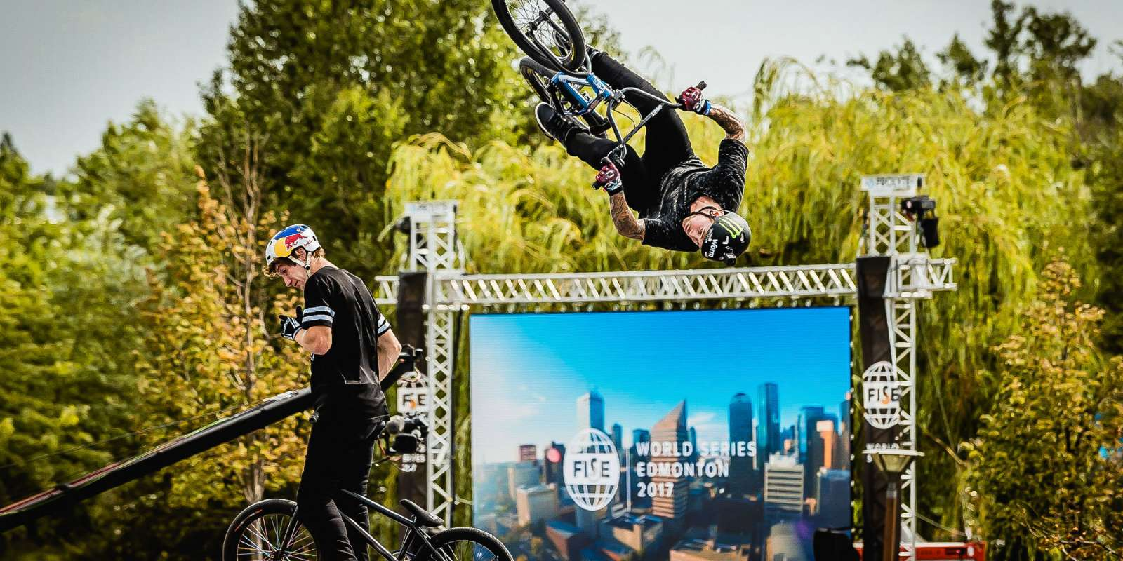 Pictures from FISE Budapest 2017 in Hungary with Monster Energy riders