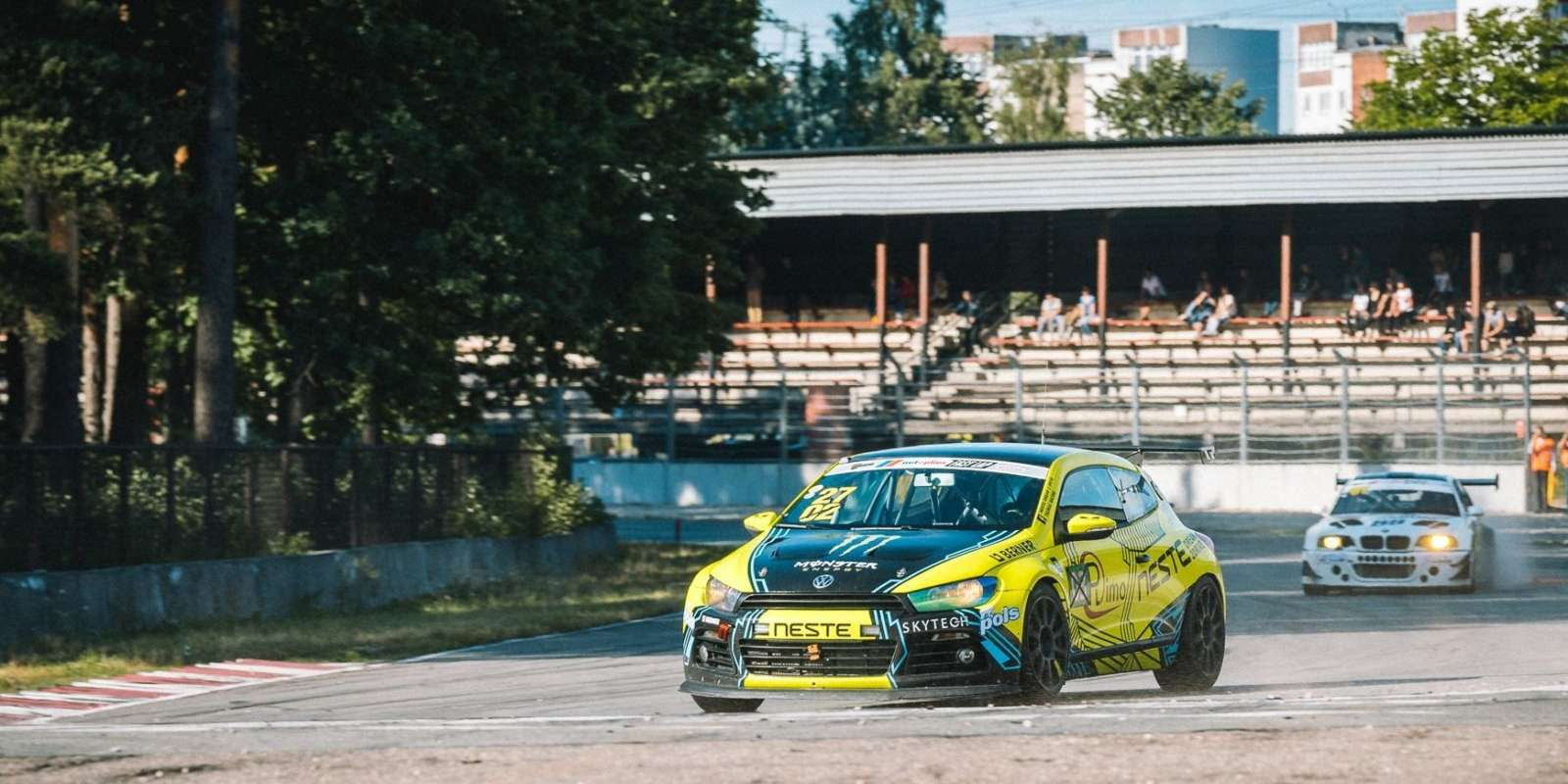 Lithuanian car racing championship Fast Lap Stage 2 in Riga, Latvia