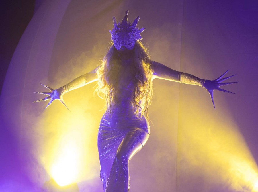 In This Moment performing in Jacksonville, FL