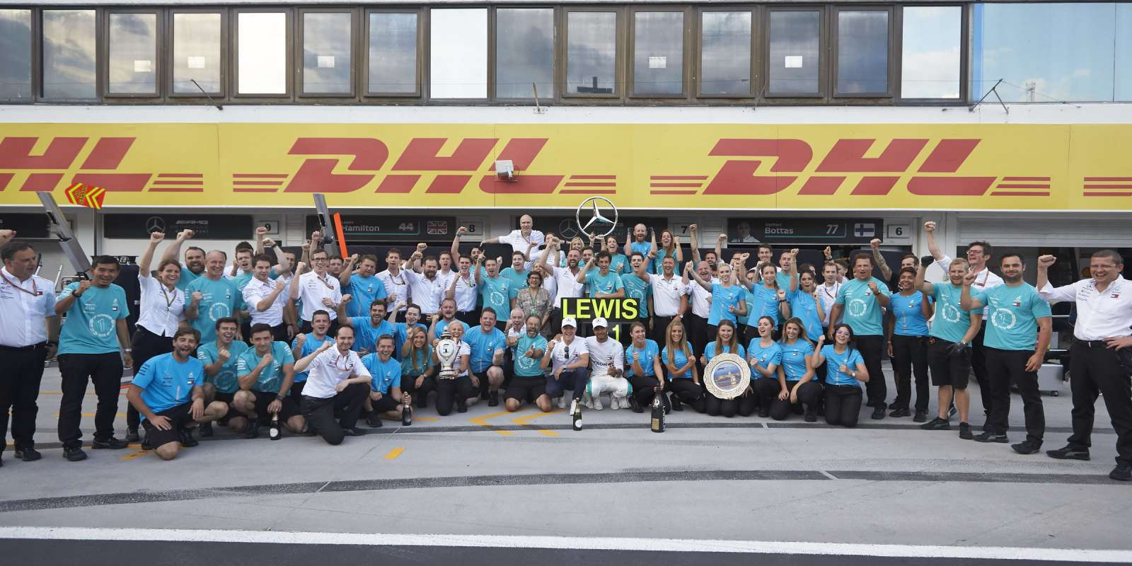 Sunday images from the 2018 Hungarian Grand Prix