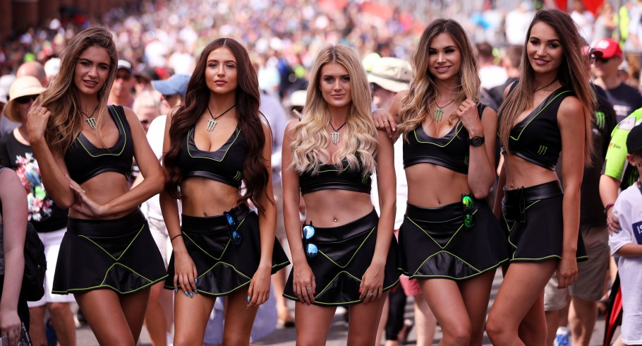 Monster Girls lifestyle at the Monster Energy BSB Brands Hatch