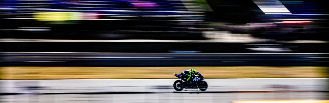 Action from the tenth round of 2018 MotoGP and Brno for the Grand Prix of Czech Republic