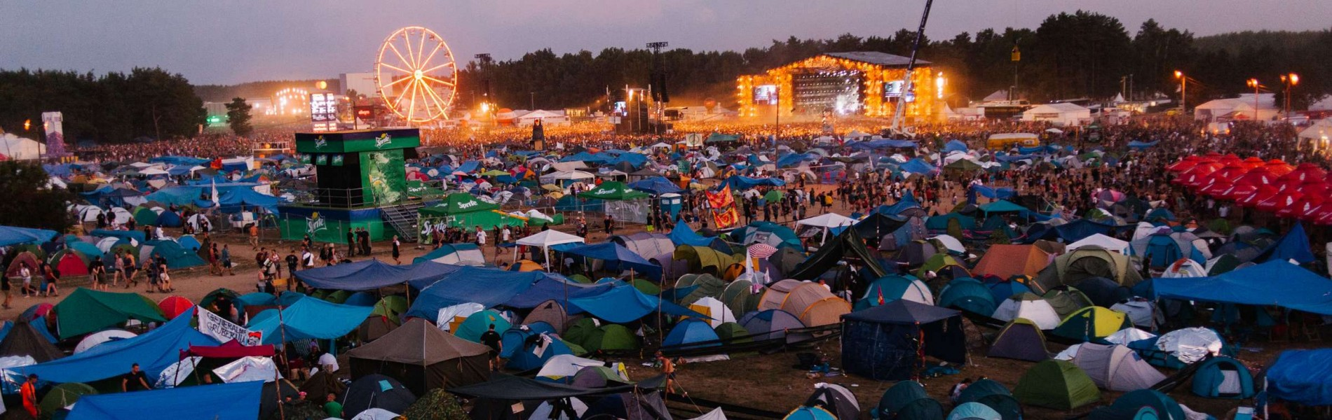 Photographs from Pol'And'Rock Festival in Poland