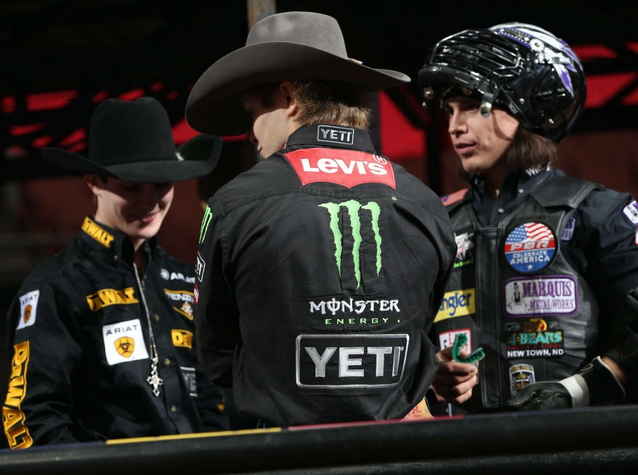 Image from the Professional Bull Riders 2018 Anaheim Invitational