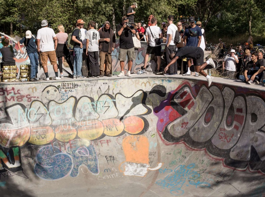 Shots from skate event in Copenhagen