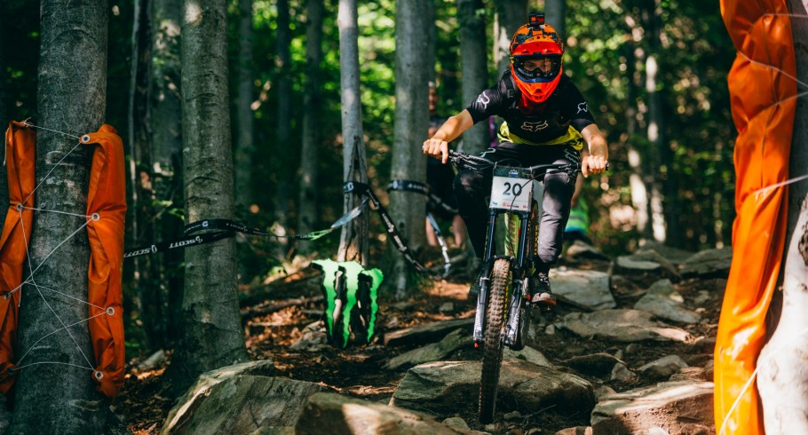 Second race of Unior DH Cup at Cerkno; Slovenia