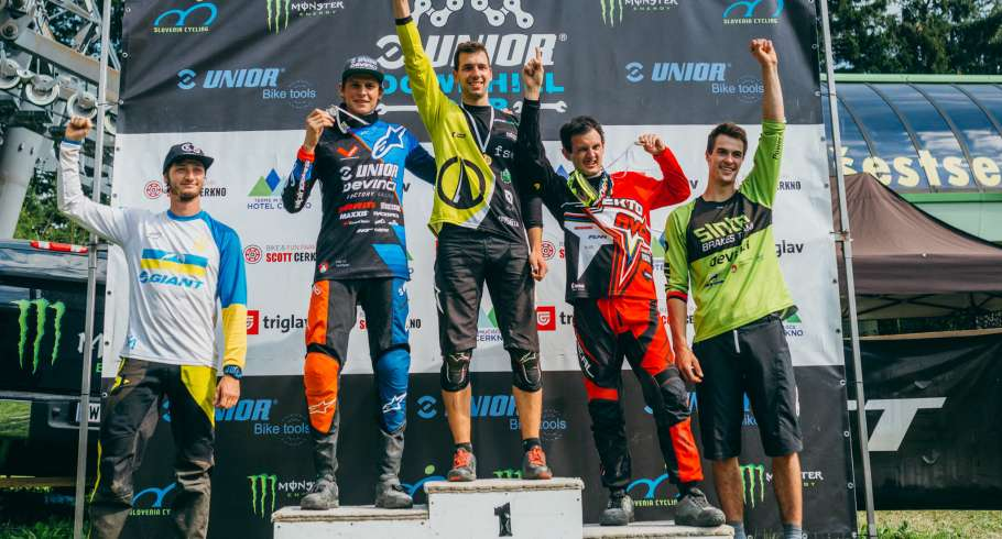 Second race of Unior DH Cup