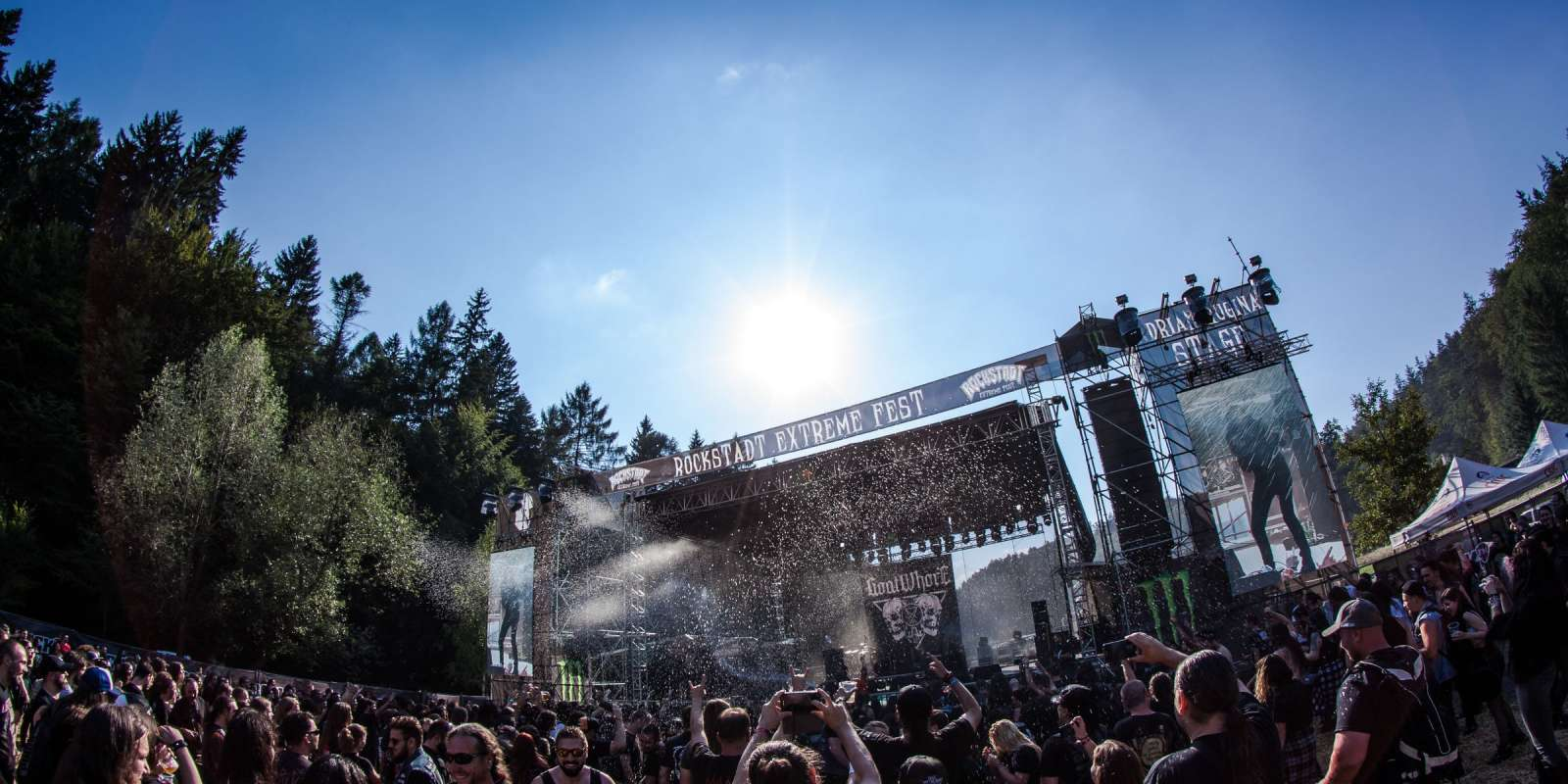 Event imagery from Rockstadt Extreme Fest in Romania.