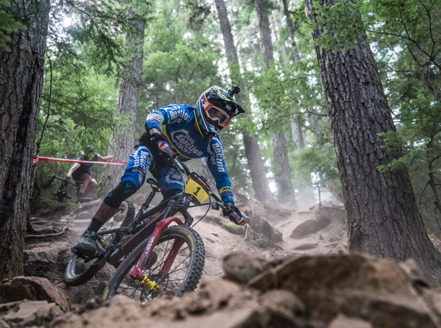 Monster athletes compete in the 2018 EWS stop in Whistler