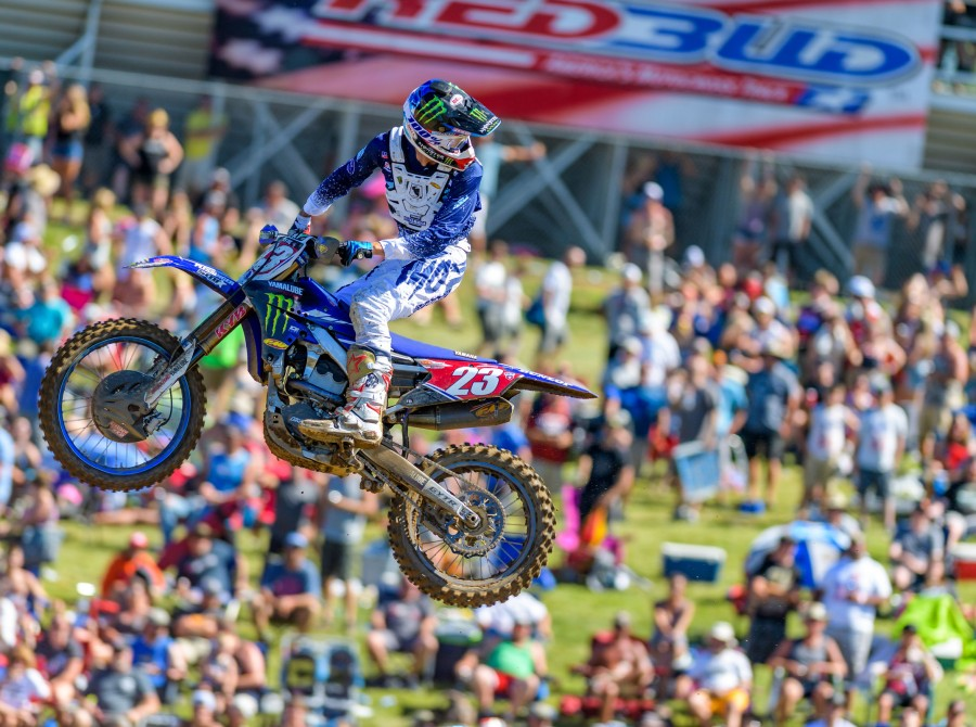 Image from the 2018 Redbull Redbud National in Buchanan, MI