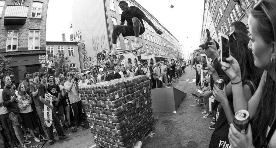 Shots from CPH skate event in Berlin