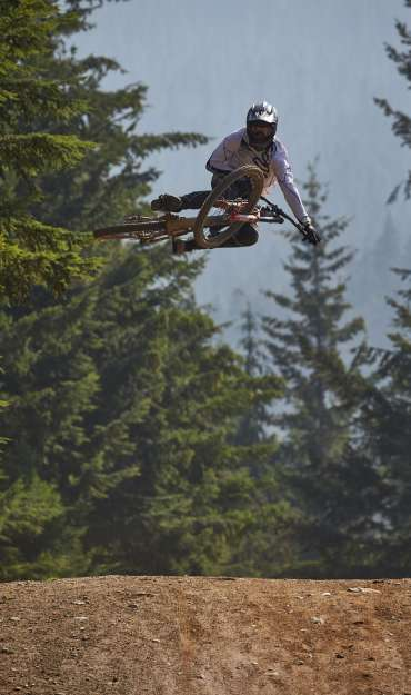 Shots from the Whip off contest at Crankworx, Whistler.