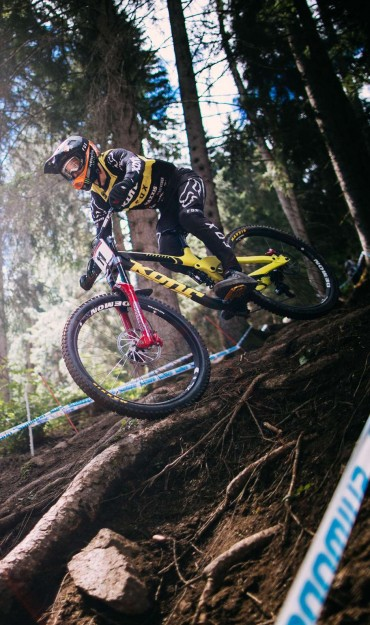 Image from the 2018 UCI event in Val di Sole, Italy