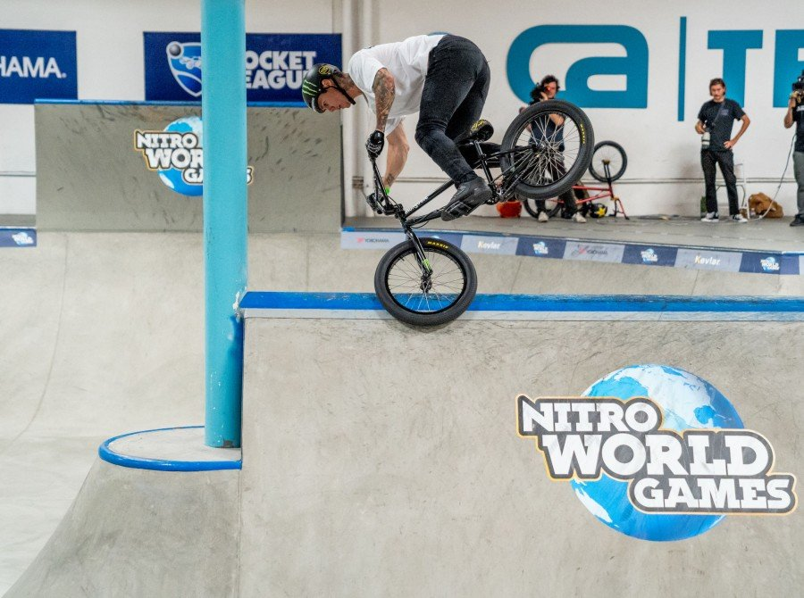Image from the 2018 Nitro World Games Park Event in Vista, CA