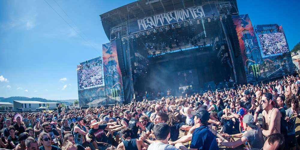 Crowd at Resurrection Fest in Spain