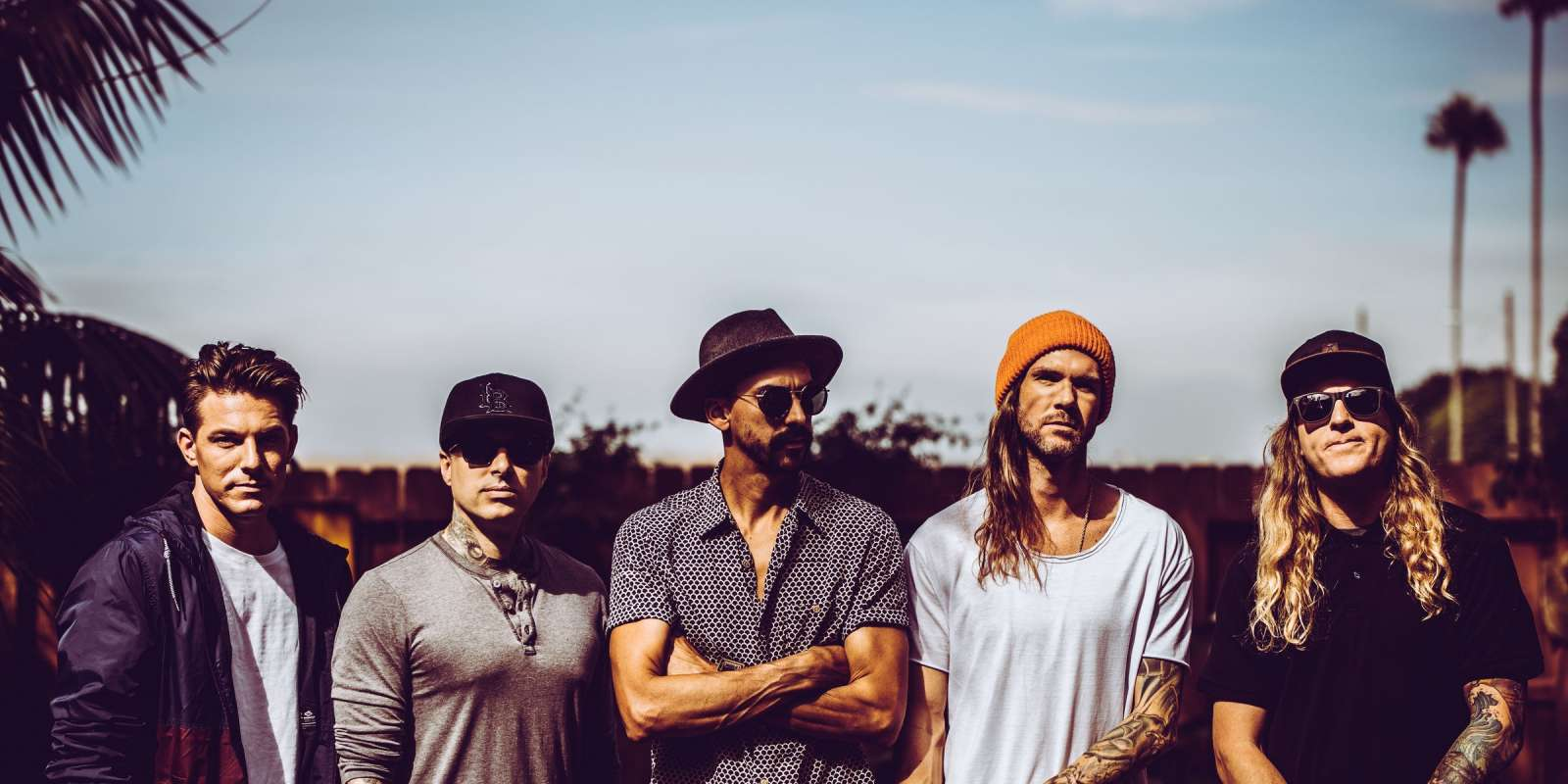 Dirty Heads Press Release Photoshoot