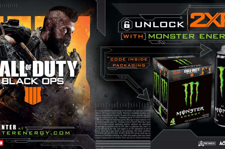 Monster Energy X Call Of Duty Black Ops 4 Code Redemption