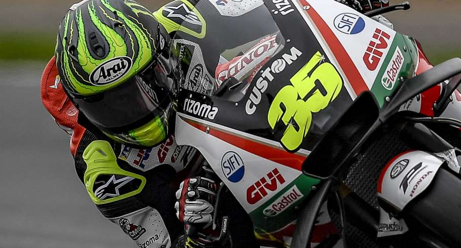 Cal Crutchlow at the 2018 GP of Great Britain