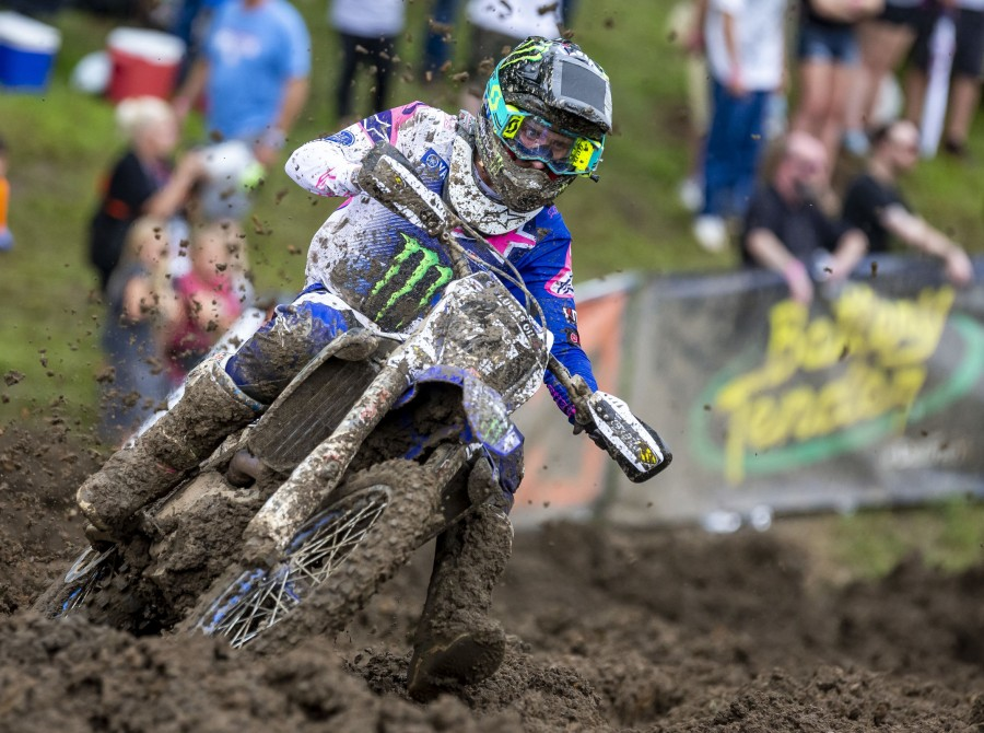 Justin Barcia at the 2018 Lucas Oil Pro Motocross Championship Iron Man Nation
