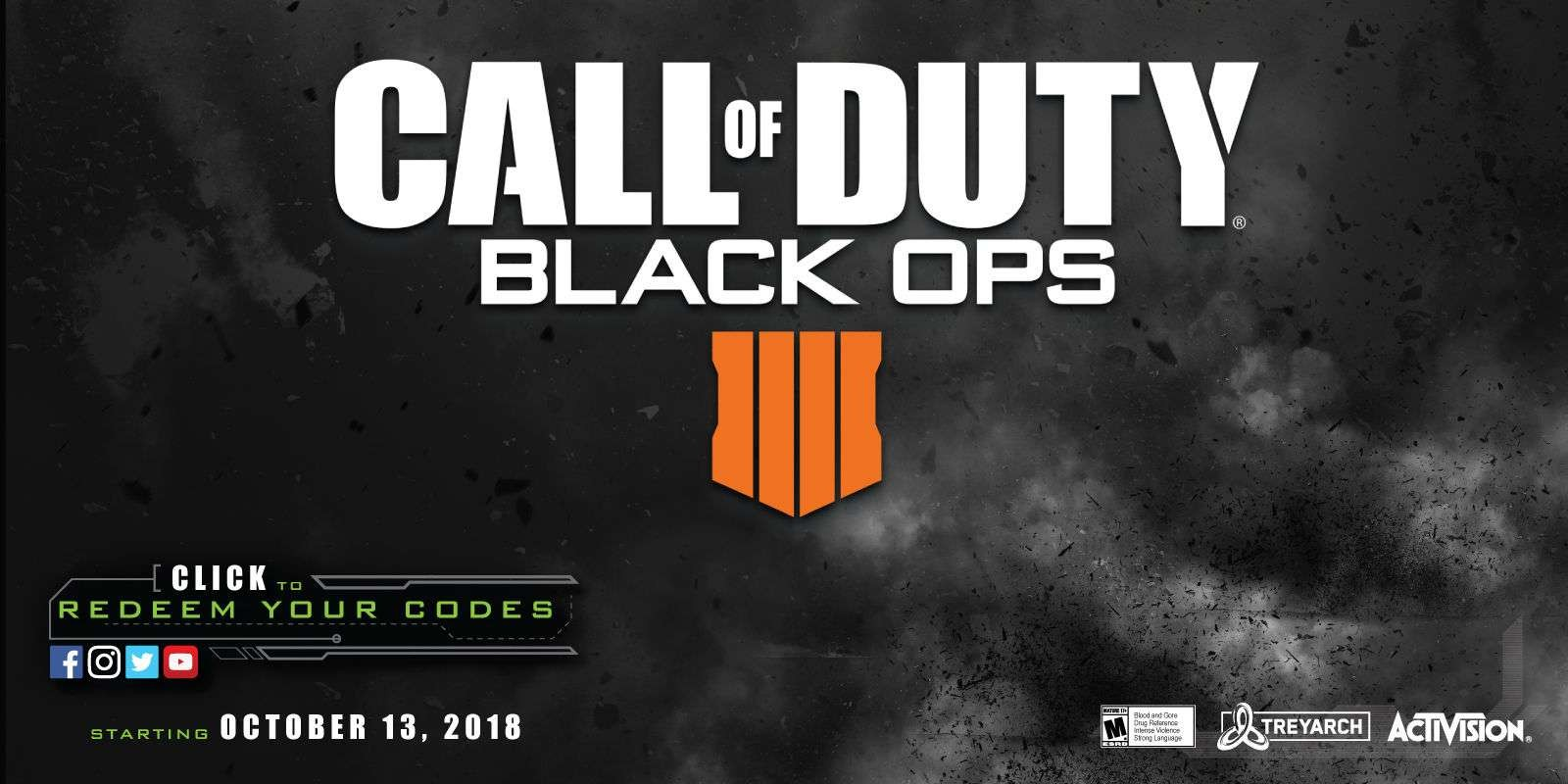 Call Of Duty Black Ops 4 Code Redemption