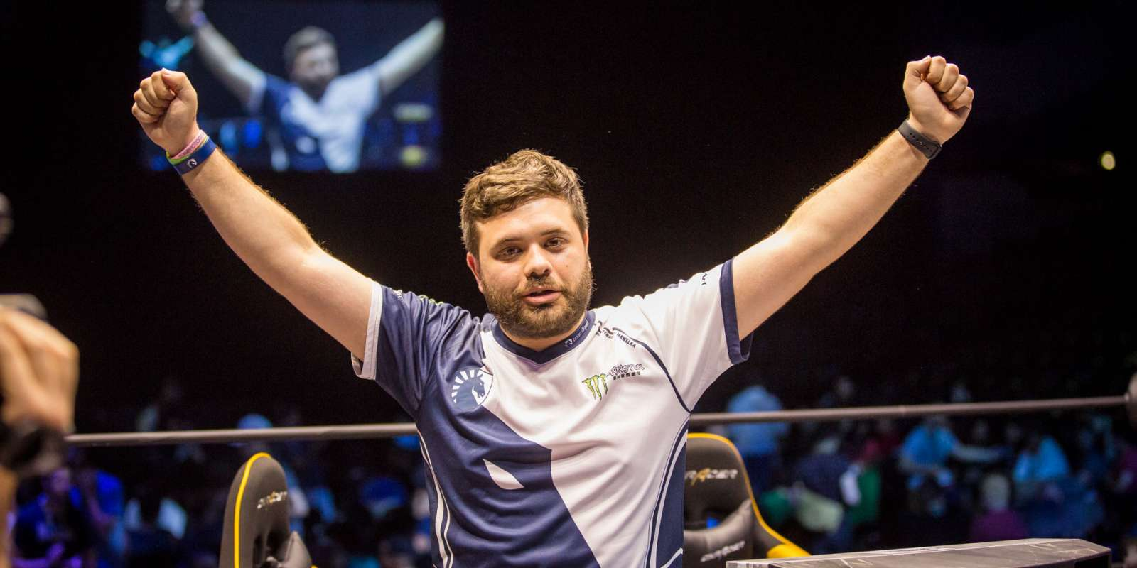 Photos of Team Liquid's Smash Brothers Melee and Street Fighter players