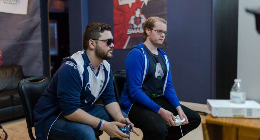 Photos of Hungrybox and Armada at Smash Summit 6 in Walnut, California at the Beyond The Summit House