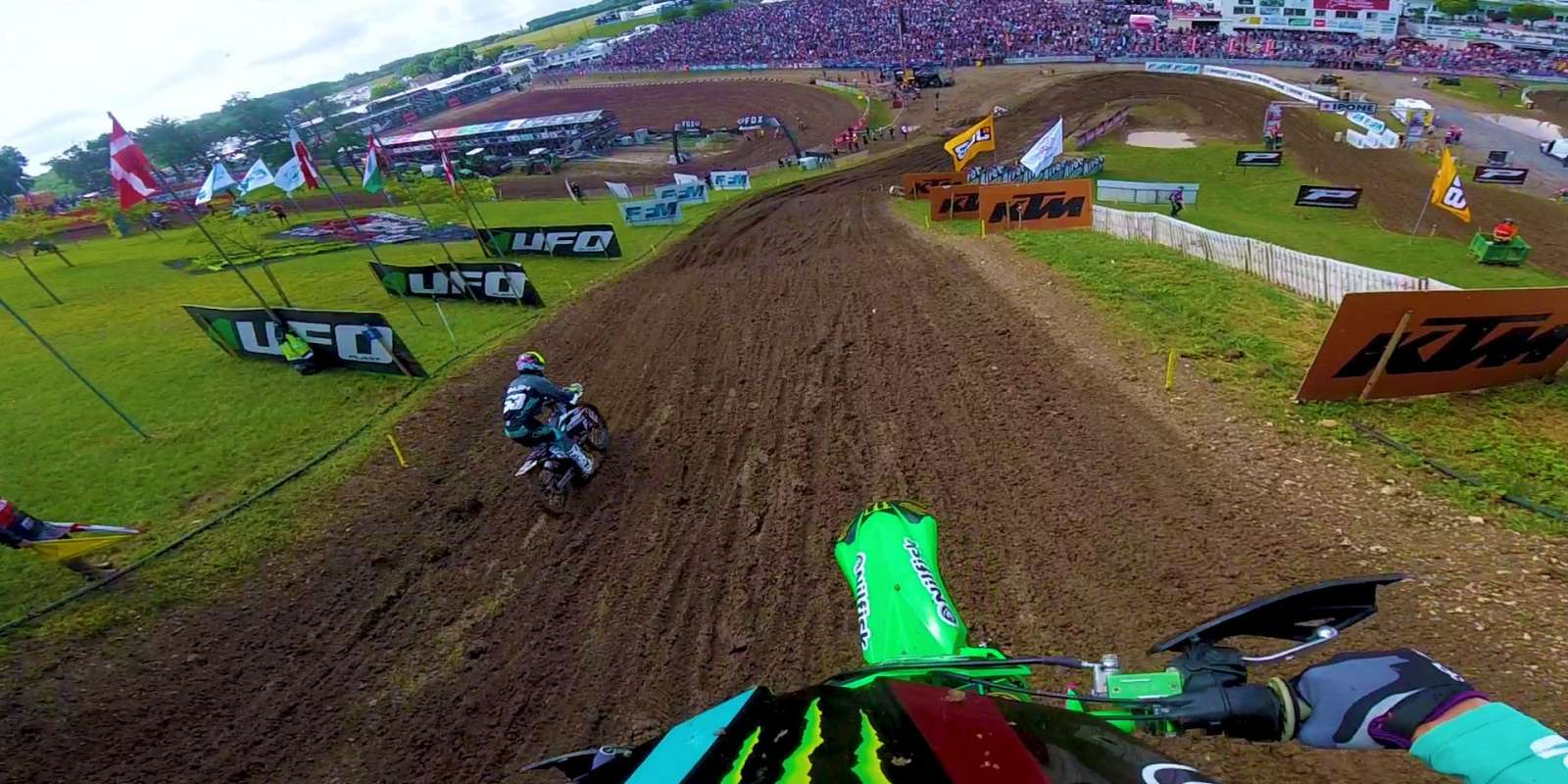 shot from the MXGP France 2018 Pierre Goupillon's video