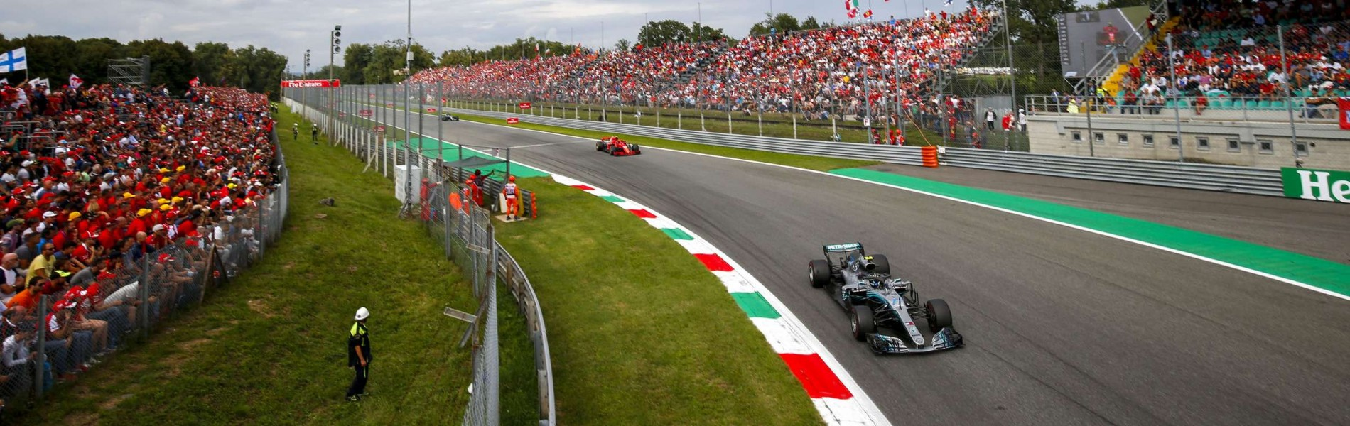 Sunday images from the 2018 Italian Grand Prix