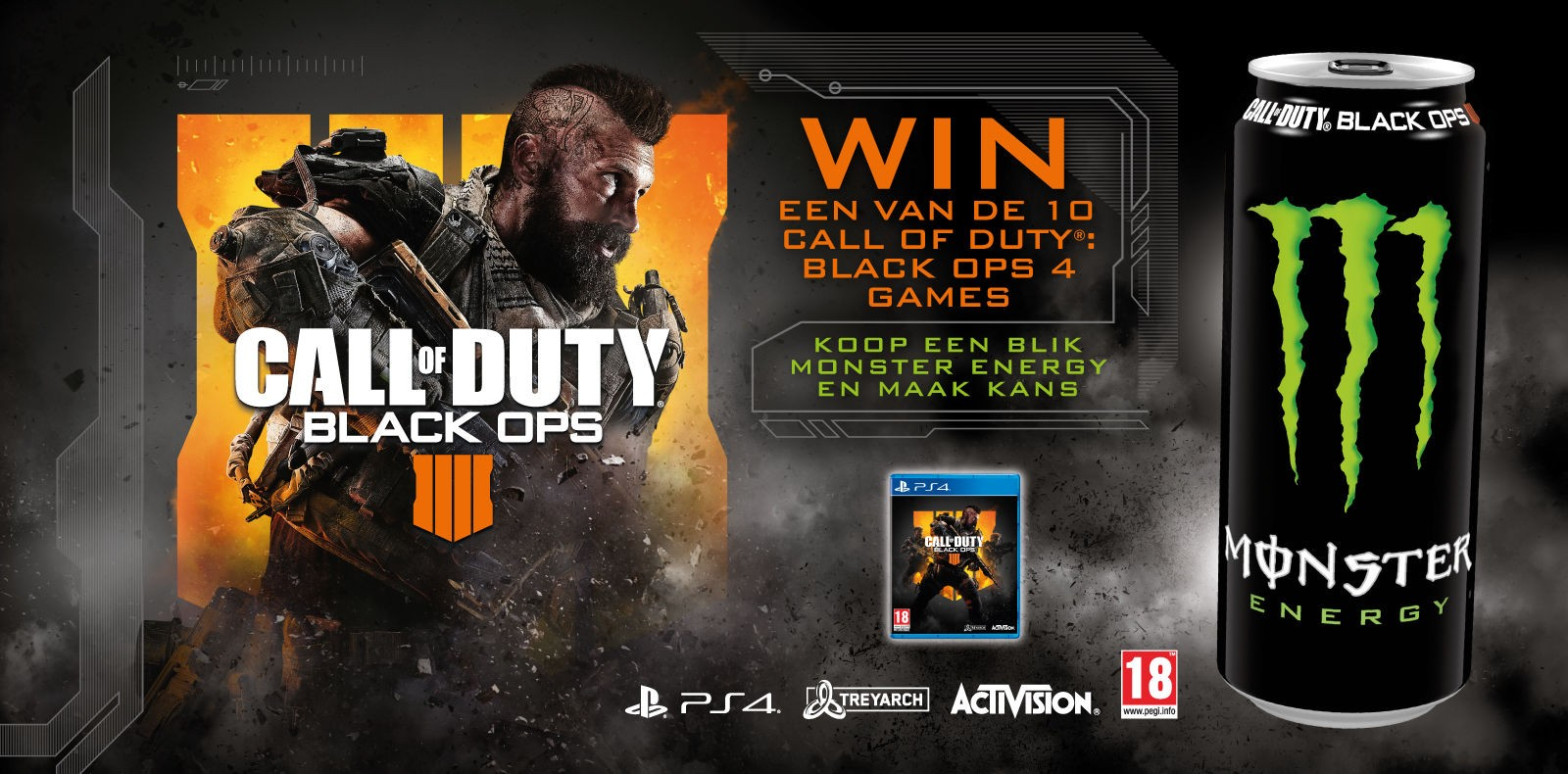 Call of Duty: Black Ops 4 - PS4 - Giveaway - BP