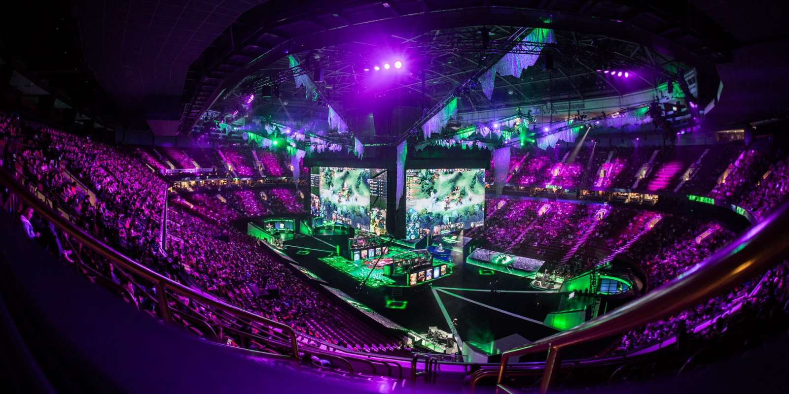 General ambient shots at The International 2018