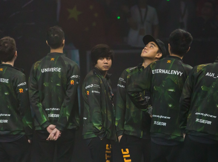 Photos of the Fnatic Dota 2 players at The International 2018 in Vancouver, Canada.