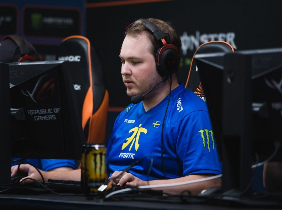 Photos of Fnatic CSGO at the Dreamhack Masters tournament in Malmo Sweden