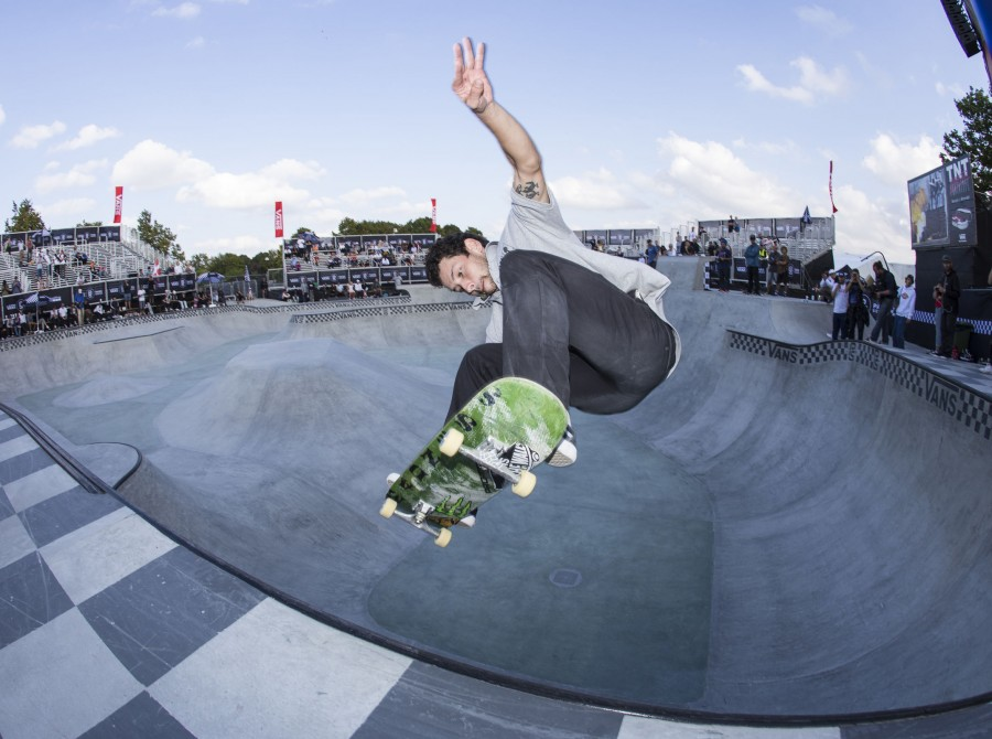 Image from the 2018 Vans Park Series in Malmo, Sweden