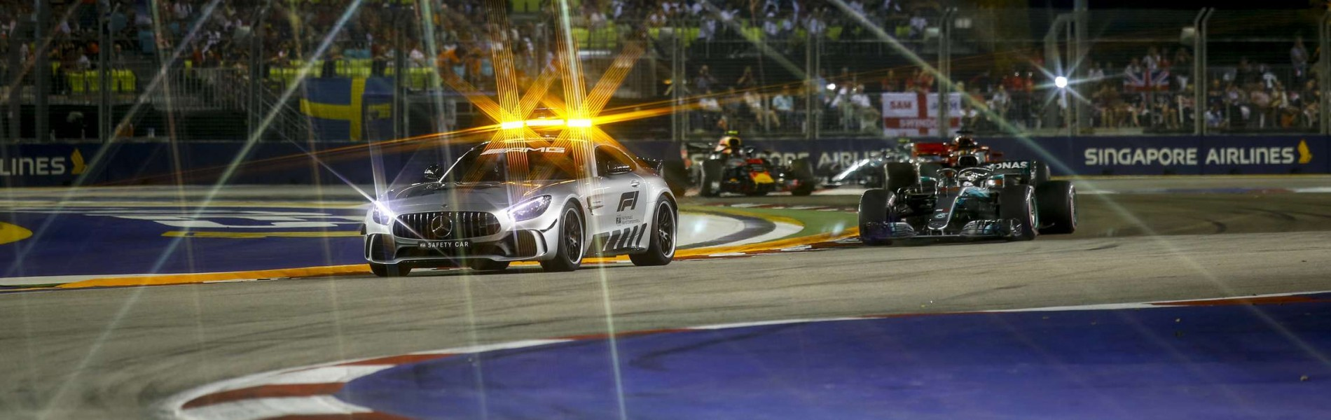 Sunday images from the 2018 Singapore Grand Prix