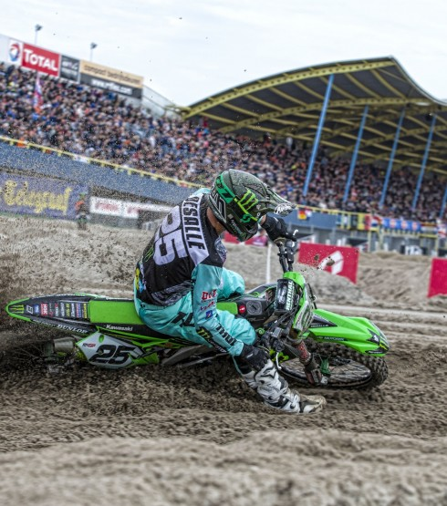 Clement Desalle at the 2018 Grand Prix of Netherlands